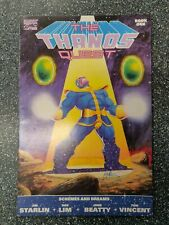 Thanos Quest #1 & #2 Set Signed Jim Starlin