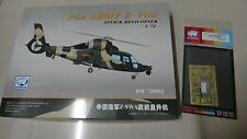 DREAMMODEL 1/72 PLA ARMY Z-9WA Attack Helicopter+Cockpit Detail Update Color PE
