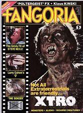FANGORIA # 24 MAGAZINE HORROR XTRO FORREST J ACKERMAN KLAUS KINSKI STEVE NEILL
