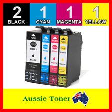 5x Ink Cartridges 702 XL 702XL for Epson Workforce PRO WF-3720 WF-3725 WF-3730