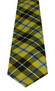 CORNISH NATIONAL TARTAN  PURE WOOL TIE by LOCHCARRON of SCOTLAND