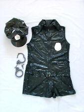 Police Officer Fancy Dress Ladies  Size 10 - Medium  Black  Brand-New & Unused