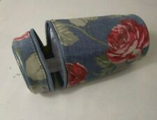 CATH KIDSTON Ladies make up bag floral print tube suitable for make up brushes