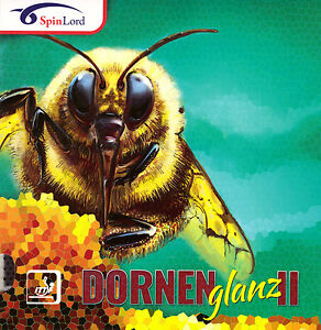 SPINLORD DORNENGLANZ II LONG PIMPLE TABLE TENNIS RUBBER OFFICIAL UK