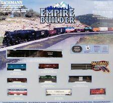 Bachmann N Scale Empire Builder Electric Train Set NEW 24009