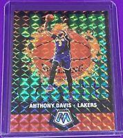 2019-20 Panini Mosaic Anthony Davis Jam Masters GREEN PRIZM Lakers #17 SP 🔥