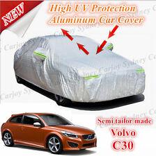 Premium Waterproof Rain UV Protection Aluminum Car Cover Small Size Volvo C30