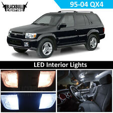 White LED Interior Light Replacement Kit for 95-04 Nissan Pathfinder QX4 11 bulb