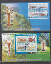 Philippine Stamps 2009 Deep-Sea Lobsters Found in the Philippines Complete set o