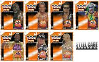 WWF/WWE Hasbro Custom Orange Card Set of 7 Diesel Jarrett Luger Doink Mattel LJN