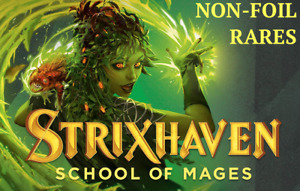 MTG Strixhaven: School of Mages NON-FOIL RARES Choose Your Card(s)