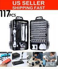 117 Pcs Magnetic Precision Screwdriver Set Computer WATCH Phone Repair Tool Kit
