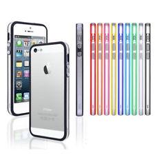 Bumper für Apple iPhone Serie Case Cover Schutz Hülle Silikon TPU Rahmen Tasche
