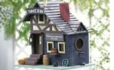 Classic tavern birdhouse , ships from Usa, attracts birds easily.