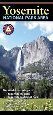 National Geographic Benchmark Yosemite National Park Area Recreation/Road Map