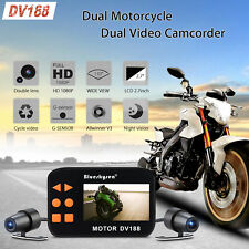 DV188 Dual Lens Camera Motorcycle Bike 1080p HD Video DVR Camcorder Action Video