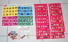 LA TOMBOLA DEI CANTANTI Anni 80 Gadget rivista DOLLY Bingo Singers Promo
