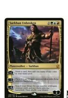 Magic Details about  /SARKHAN UNBROKEN Foil War of the Spark Mythic Edition In Hand MTG