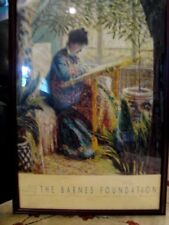 Claude Monet Art Poster - From The Barnes Foundation - Printed in France  - 1994