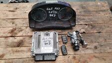 VW GOLF MK5 2.0 TDI BKD ENGINE ECU SET 03G906016FM