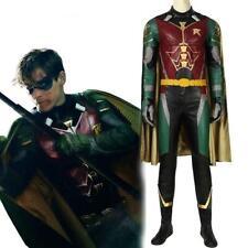 Costume Robin Batman Titans cosplay vestito completo adulti copia professionale