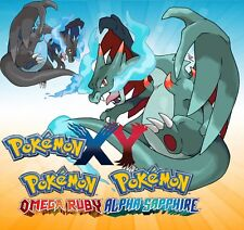* Battle Ready * Shiny Charizard X * ORAS Sun Moon X Y Pokemon * IV EV Maxed *