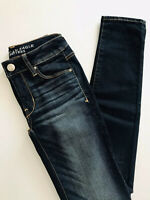 "American Eagle Outfitters Super Stretch Skinny Size 0 Long 31"" Inseam"