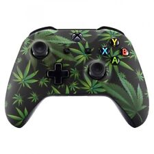 Green Weeds Soft Touch Replace Front Shell Cover for Xbox One X One S Controller