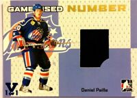 2006-07 ITG Heroes & Prospects Game-Used Number Gold Daniel Paille Vault 1/1