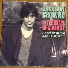 """JACKSON BROWNE IN THE SHAPE OF A HEART 7""""VINYL"""