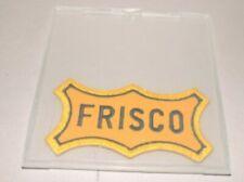 Original Frisco Railway Patch Framed