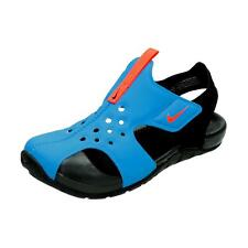 Nike Water Sandals/Shoes Photo Blue/Bright Crimson Sunray Protect2   Boys Size 1