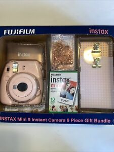 ✅ Fujifilm Instax Mini 9 Camera Gift Bundle, Pink ‼️ See Pictures