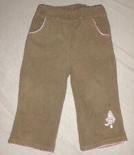 Braune dickere Stoffhose, kuschelweich von C&A - Größe 80