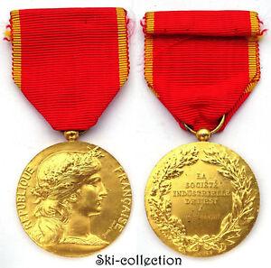 Médaille Société Industrielle de l'Est. France, vers 1930. 36 mm. Argent/Silver