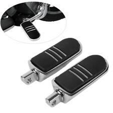 Chrome StreamLiner Styled Footpeg Rest Fit For Harley FLH Touring FLST Softail