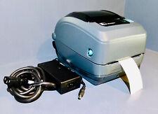 Zebra GX430t Thermal Label Barcode USB LAN Network Printer 300dpi