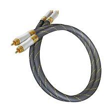 2x1,5m Dynavox Highend Stereo Cinchkabel OFC Kupfer LDPE Dielektrikum NF-Kabel