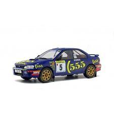 SOLIDO 1/18 Scale S1800802 Subaru Impreza WRC Monte Carlo Rally 1995
