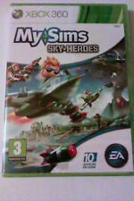 "JEU XBOX 360 ""My Sims Sky Heroes"" (Simulation - Party-game) NEUF SOUS BLISTER"