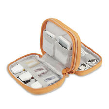 USB Flash Drive Double Layer Carrying Case Zipper For Flash/Key Drives/SD Cards