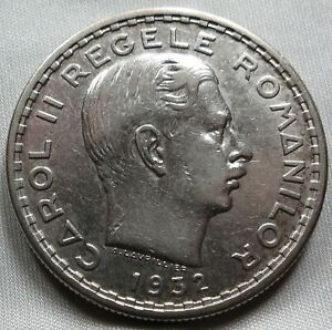 ROMANIA 100 lei 1932 London XF+ Carol II. #A64