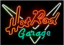 "New Hot Road Garage Car Auto Beer Neon Sign 17'x14"""