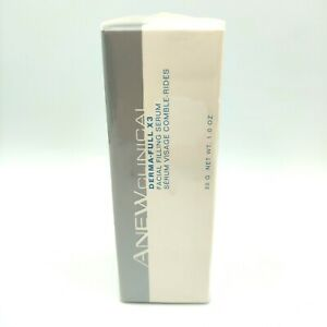 New Avon Anew Clinical Derma-Full X3 Facial Filling Serum 1oz Smoother Younger