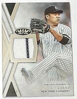 2020 Topps Tier One Relics Masahiro Tanaka Jersey #306/395 Yankees