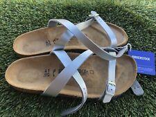 Women's Birkenstock Daloa Synthetic Leather Sandal Size 10