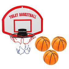 Mini Basketball Set Indoor Hoop Board Net Ring Hanging Basket Bath Shower Toys
