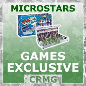 CRMG Corinthian MicroStars POWERSHOT & SUPERCLUB EXCLUSIVE (like SoccerStarz)
