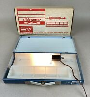 Vintage Smith-Victor Metal Slide Sorter Model SS-1 Working Condition With Box D3