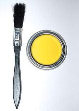 YELLOW BRAKE CALIPER PAINT KIT high temperature 125ml with brush